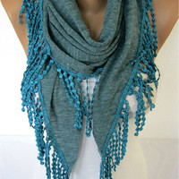 NEW-- Scarf - Elegant Scarf- Fashion Scarf- Shawls-Scarves -Christmas Gift