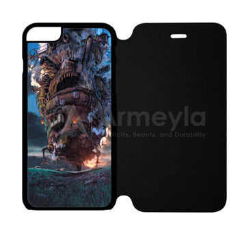 HowlS Moving Castle Case iPhone 6 Plus/6S Plus Flip Case | armeyla.com