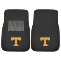 Tennessee Volunteers NCAA 2-pc Embroidered Car Mat Set