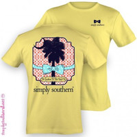 Simply Southern Palmetto Tee - Yellow