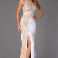Floor Length Beaded JVN92582 by Jovani Prom Dress