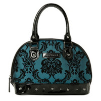 Rock Rebel GG Rose Bayou Blue Mini Madame Bag