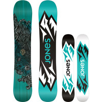 Jones Snowboards Mountain Twin Snowboard One Color,
