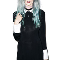 Kill Star Addams Dress Black