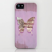 New York butterfly iPhone & iPod Case by Steffi ~ findsFUNDSTUECKE