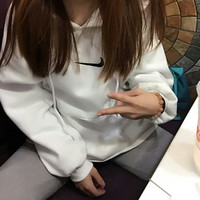 Nike Pullover Unisex With Pocket Long Sleeve Hoodies [9453928007]