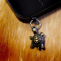 Turtle Cell Charm