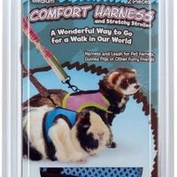 Small Animal Comfort Harness W/Leash Medium