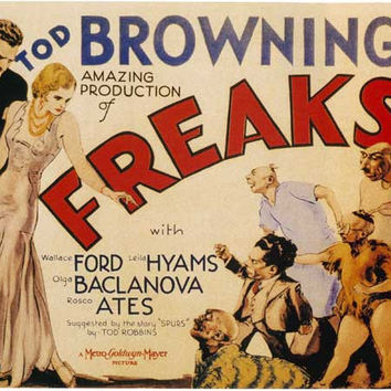 Freaks 11x17 Movie Poster (1932)