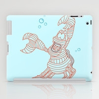 Sebastian - Little Mermiad iPad Case by DanielBergerDesign