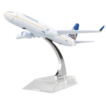 American Continental Airlines model plane Boeing 737 16cm alloy metal model plane toy airplane models child Birthday gift