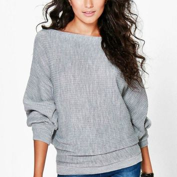 Warm & Fuzzy Feels Batwing Sweater