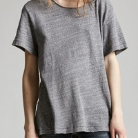 Rosie tee medium heather grey