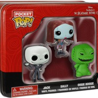 The Nightmare Before Christmas | Jack, Sally, Oogie POCKET POP! VINYL TIN