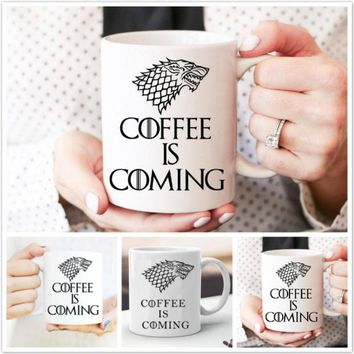 Creative Game of Thrones Coffee Mug Gifts for Friends (Size: Mug)