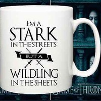 NEW DESING coffee mug, Game of thrones funny joke quote,jon snow,winter,streets