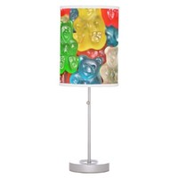 Gummi bears collage fun for kids & adults cute table lamps