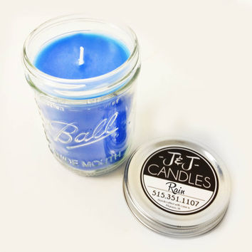 Rain Scented 16 oz. Candle