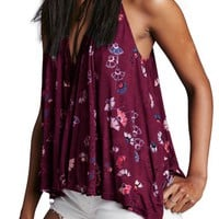 Free People 'Love Potion' Floral Print Sleeveless Knit Top | Nordstrom