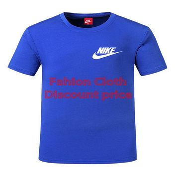 Nike Court Dri-FIT Mens Short Sleeve Top DL L-5XL 8809 Blue