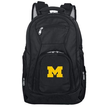 Michigan Wolverines Backpack Laptop-BLACK