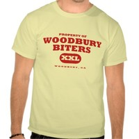 Property of Woodbury Biters Tee Shirts