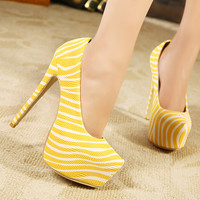 New Arrival Hot Selling Zebra Pattern Women's Fashion Platform High Heel Shoes For Wedding Pumps Large Size 11 12 13 41 42 43 44-in Pumps from Shoes on Aliexpress.com