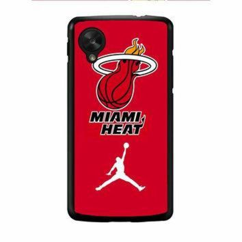 DCKL9 Miami Heat With Nike Jordan Nexus 5 Case