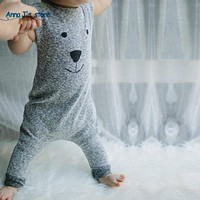 Newborn Cute Baby Boy Girl Bear Suits Jumpers Clothes