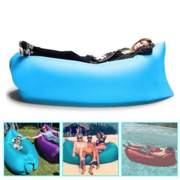 """NEW"" Portable Inflatable Air Bed Sofa ( Watch Video )"