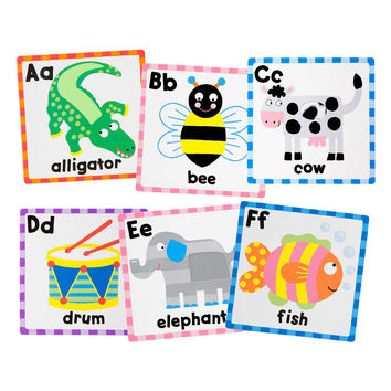 Alex Toys Touch And Feel Flash Cards - ABC