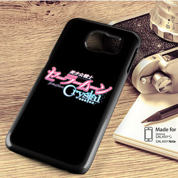 Sailor Moon Crystal Logo Samsung Galaxy S4 S5 S6 S6 Edge S6 Edge Plus S7 S7 Edge Case Note 3 4 5 Edge Case