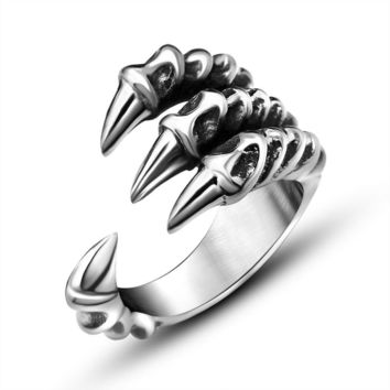Gift Jewelry Stylish New Arrival Shiny Titanium Men Strong Character Accessory Ring [6544880259]