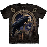 THE TALISMAN T-Shirt Mountain Witchcraft Crow Black Magic Raven S-3XL 4XL 5XL