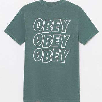 OBEY Jumble Lo-Fi T-Shirt at PacSun.com
