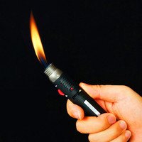 New outdoor Lighter Torch Jet Flame Pencil Butane Gas Refillable Fuel Welding Soldering Pen new arrival