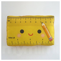 Decorative Pillow Mini Pillow Toy Pillow  Happy Ruler by mymimi