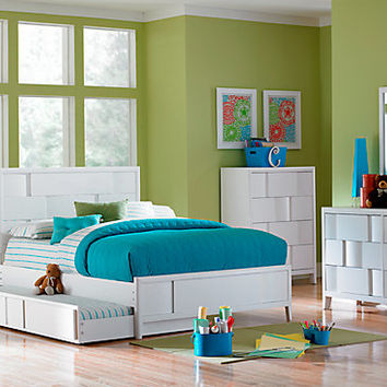 Hayden Lane White 5 Pc Full Bedroom