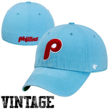 Philadelphia Phillies '47 Brand Cooperstown Franchise Fitted Hat – Blue