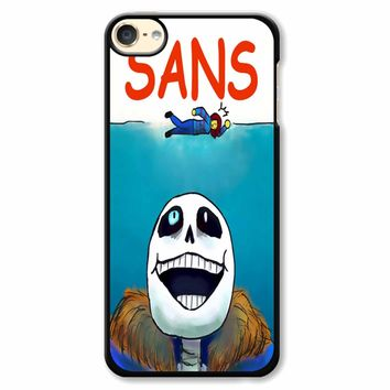 Undertale Sans Jaws Movie Poster iPod Touch 6 Case