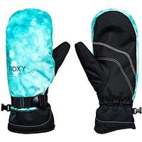 Roxy Jetty Snow Mittens -Blue