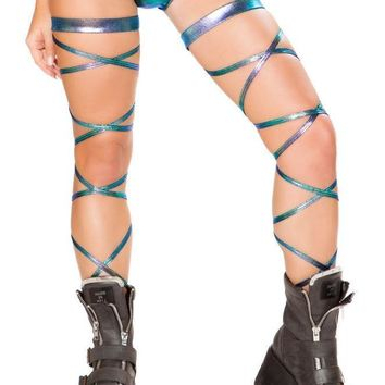 """Roma Rave 3632 - 100"""" Leg Strap with Attached Garter"""