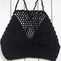 Victoria Crochet Halter (More Colors)