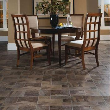 Innovations Amber Random Slate 8 mm Thick x 15-1/2 in. Wide x 46-1/2 in. Length Click Lock Laminate Flooring (19.98 sq. ft. / case)-836238 - The Home Depot
