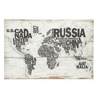 World Map Wall Art | Nordstrom