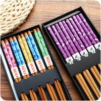 Japanese Bamboo Chopsticks Gift Set 5 sets