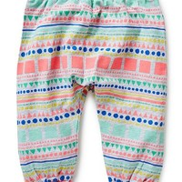 Baby Girls Pants & Shorts | Scandi Geo Harem Pants | Seed Heritage