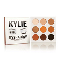 Kylie Jenner Kyshadow Kylie Jenner Eyeshadow Kylie Cosmetics Eye Shadow Palette 9 Color/set