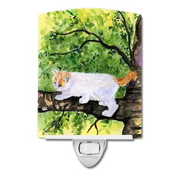 Cat - Turkish Van Ceramic Night Light SS8277CNL