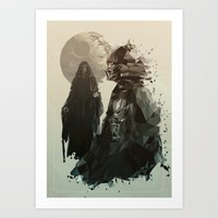 Come to the Dark Side Art Print by [SilenceCorp.]